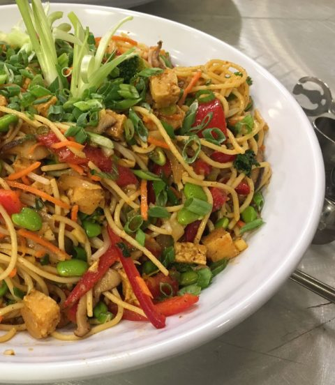 Future Eats Asian-Inspired Noodle Salad