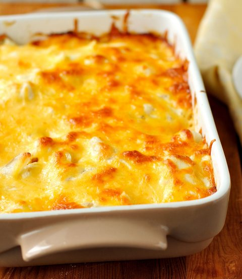 French Onion Hash Brown Bake