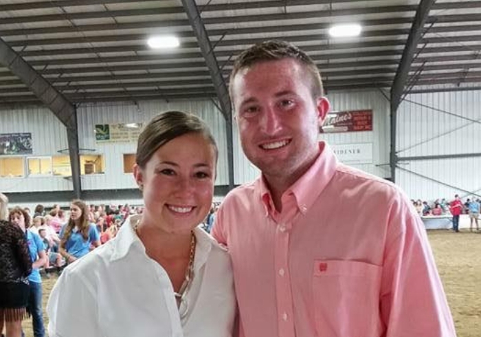 Ohio farmers Alissa and Andrew Armstrong