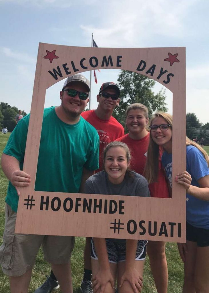 OSU ATI students at Welcome Days.